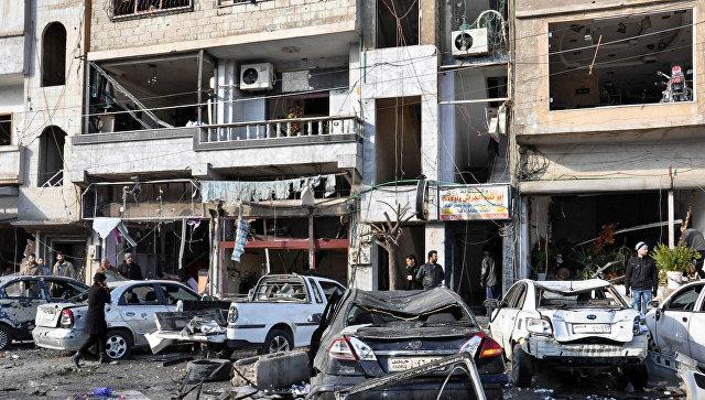 Дамаск призывает участников переговоров вЖеневе осудить теракт вХомсе