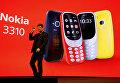 Глава HMD Global Арто Нуммела представляет обновленную Nokia 3310