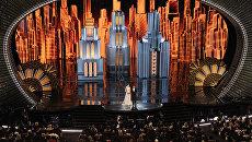 89-я церемония вручения Оскара в Голливуде, Лос-Анджелес. Архивное фото
