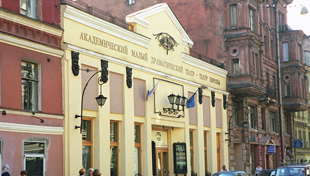 Академический Малый драматический театр - Театр Европы. Архивное фото