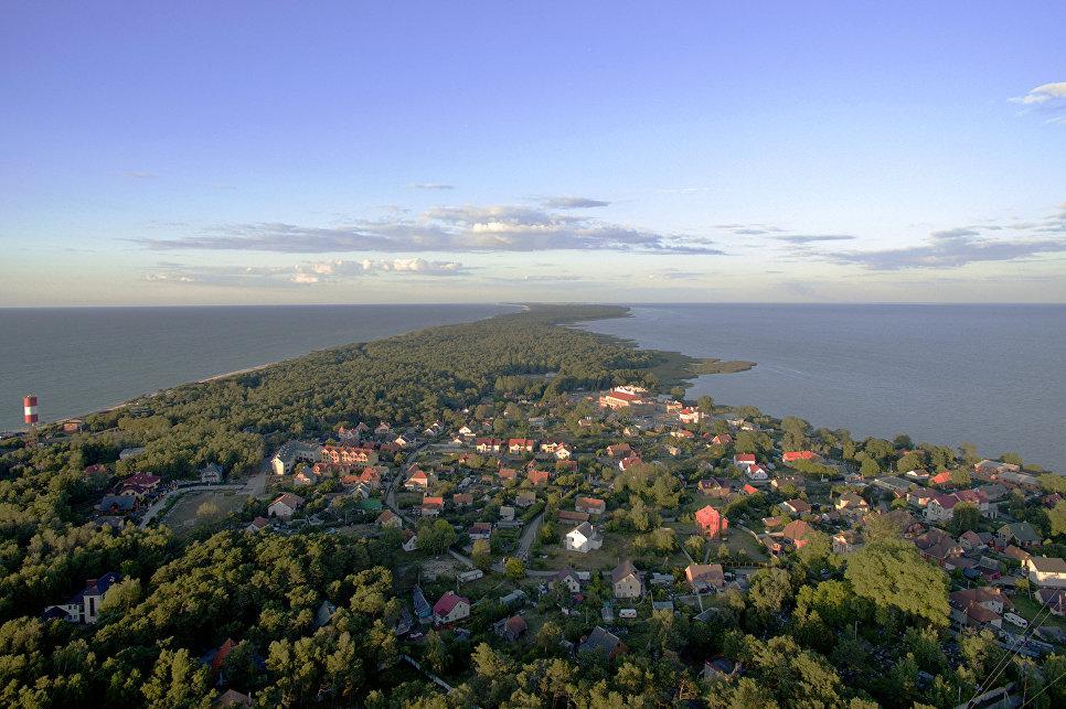 Вид на поселок Лесной