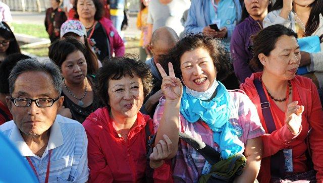 Туристы из Китая. Архивное фото