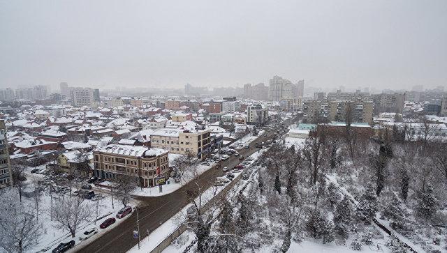 Зима в Краснодаре. Архивное фото
