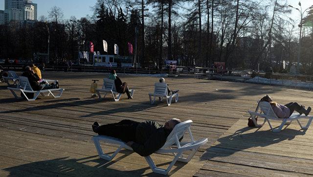 Температура воздуха в столицеРФ побила 17-летний рекорд в 1-ый день весны