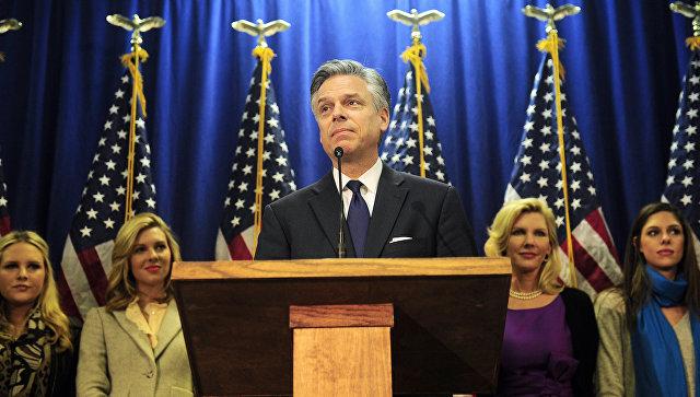 Джон Хантсман баллотируется в президенты США. 2012 год