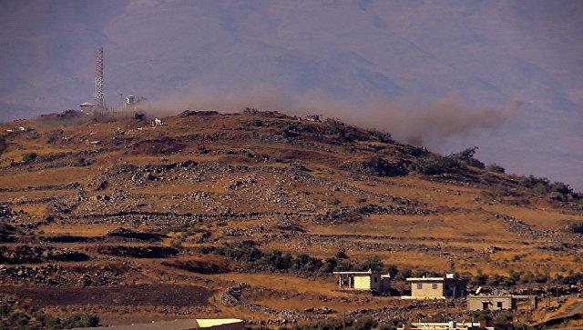 Граница провинций Дераа и Кунейтра на юге Сирии. Архивное фото