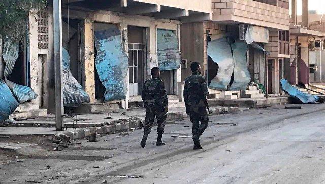 Пальмира снова под контролем сирийской армии. Архивное фото