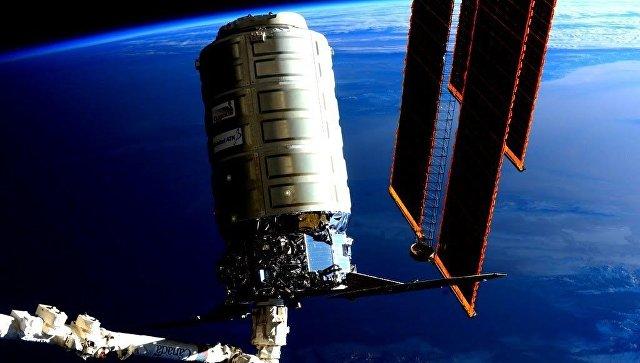 Автоматический грузовой космический корабль Cygnus. 19 февраля 2016