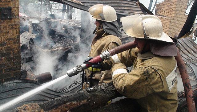 ВКузбассе впожаре вдоме погибли три человека