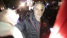 Фанаты в Ростове-на-Дону кричали от восторга при виде тренера Манчестер Юнайтед
