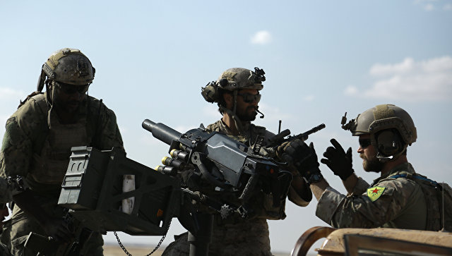 Американский спецназ в Сирии. Архивное фото