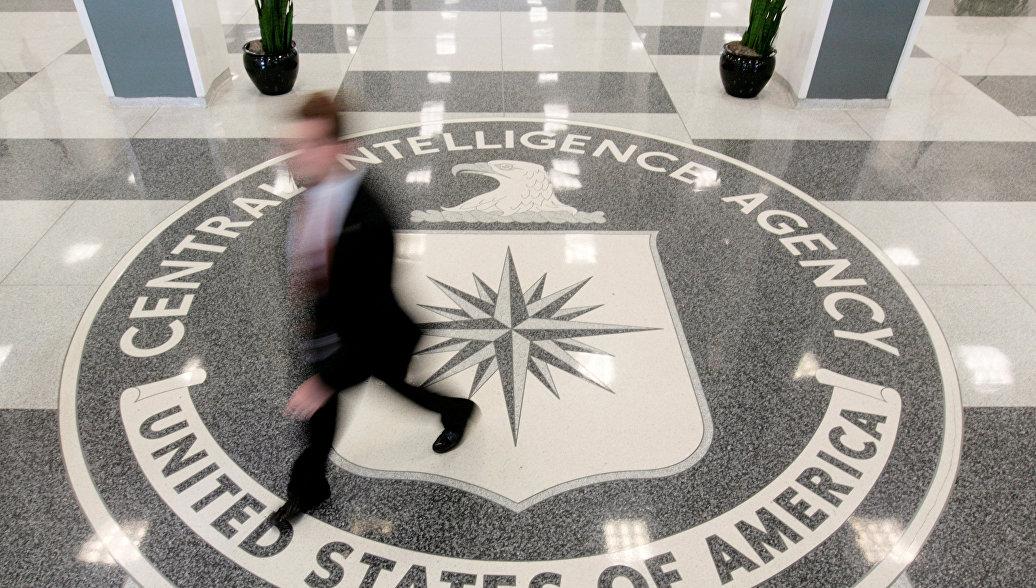 Холл штаб-квартиры ЦРУ