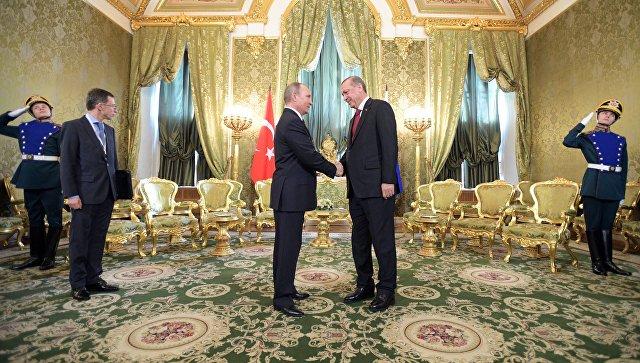 Эрдоган торопит свведением безвизового режима между Турцией иРоссией