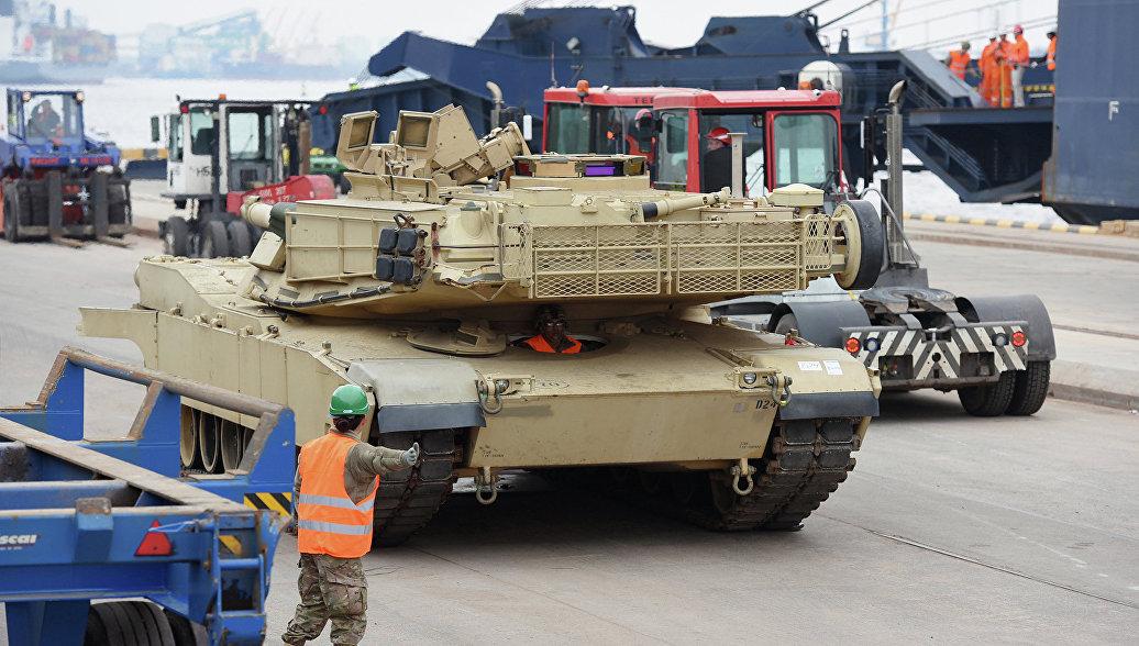 В Молдавии пытались заблокировать военную технику США на границе
