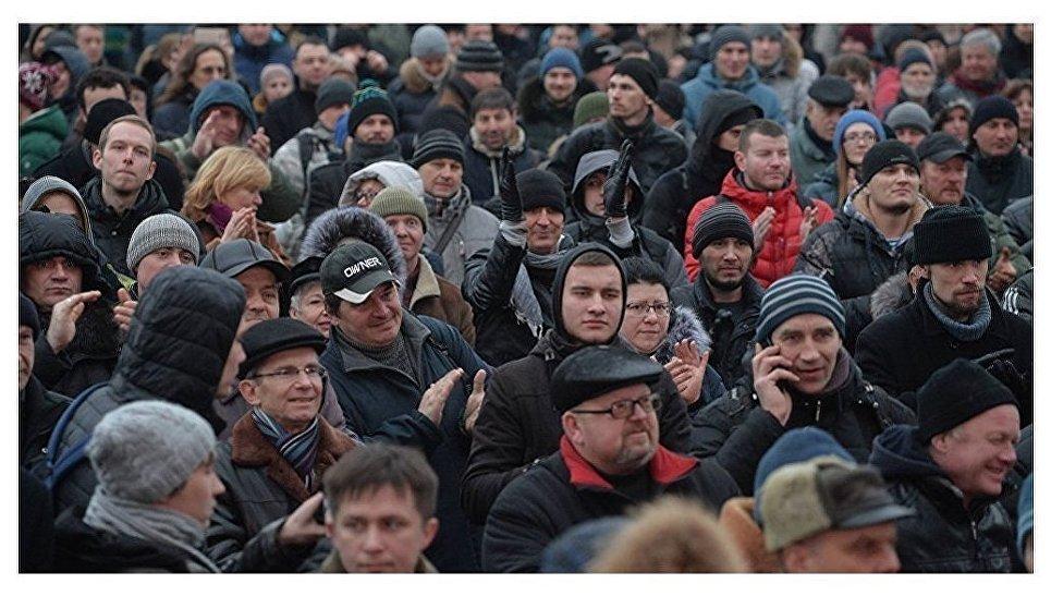 Марш нетунеядцев: разрешенная акция протеста прошла вМинске, Гродно иМогилеве