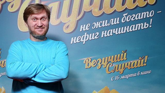 Андрей Рожков на премьере фильма Везучий случай! (режиссер Роман Самгин, 2016)