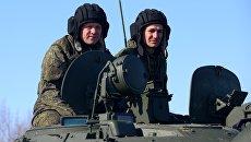 Военнослужащие в Хабаровском крае. Архивное фото