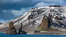 Мыс Тегетхоф, остров Галля, Земля Франца-Иосифа. Архивное фото
