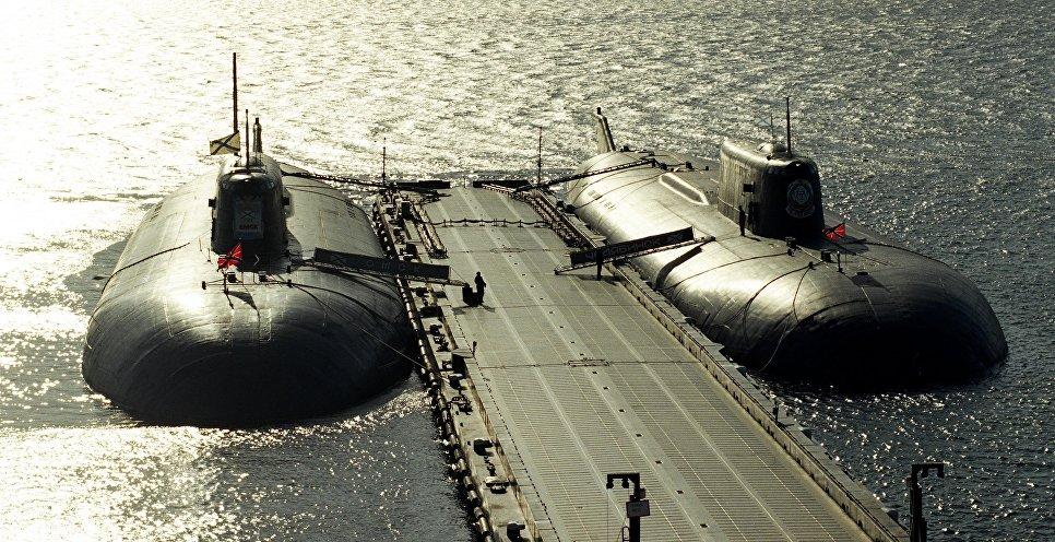 В Российской Федерации  отмечается День моряка-подводника
