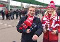 """Российские футбольные фанаты испытали """"ложки победы"""" в действии"""