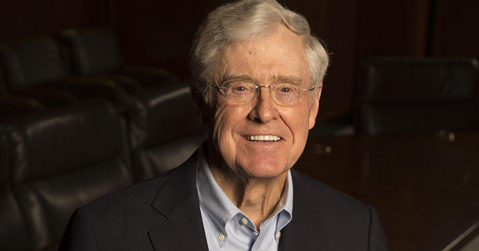 Чарльз Кох вместе с братом Дэвидом владеют семейным холдингом Koch Industries