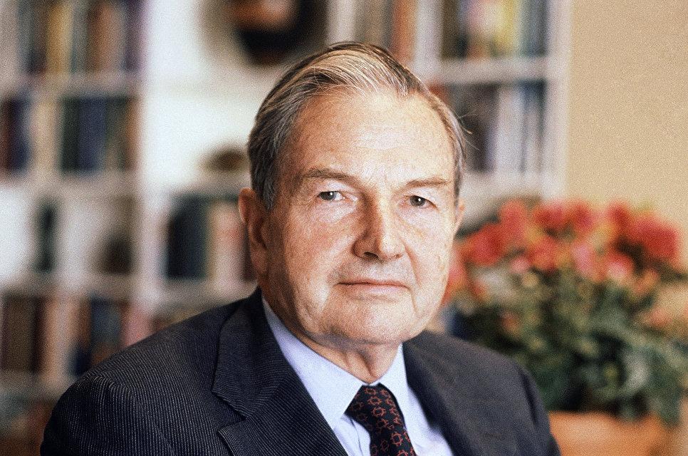 Американский миллиардер Дэвид Рокфеллер, 1981