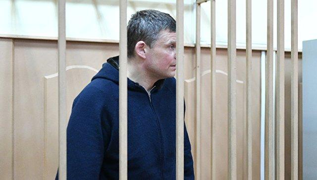 Директор ФГУП Атэкс Андрей Каминов в Басманном суде Москвы