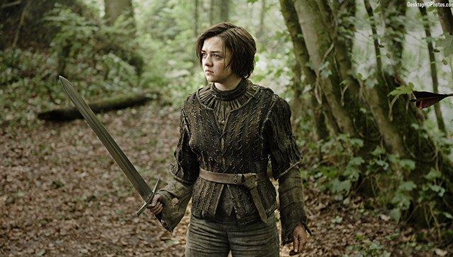 Мэйси Уильямс в сериале Игра престолов. Архивное фото