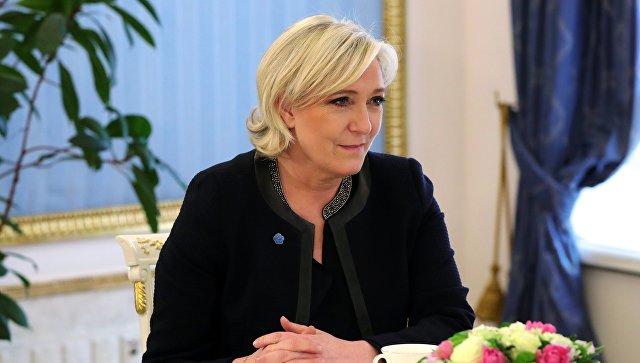 24 марта 2017. Лидер политической партии Франции Национальный фронт, кандидат в президенты Франции Марин Ле Пен. Архивное фото