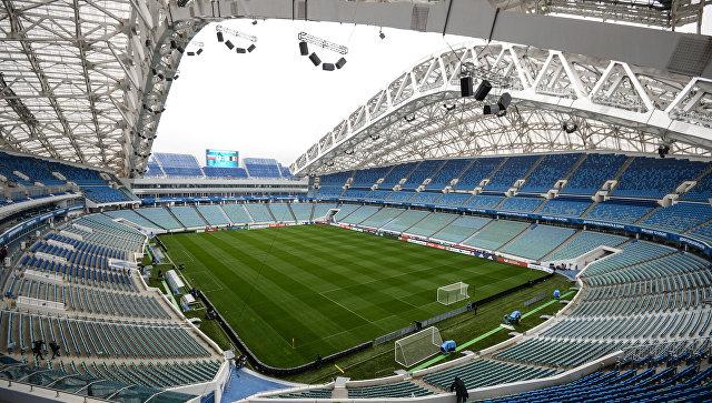 Сборные Российской Федерации иБельгии своим матчем откроют стадион «Фишт» вСочи