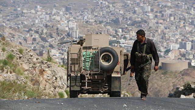 Ситуация в городе Таиз. Йемен. Архивное фото
