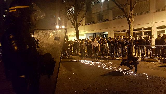 Беспорядки в Париже. Архивное фото