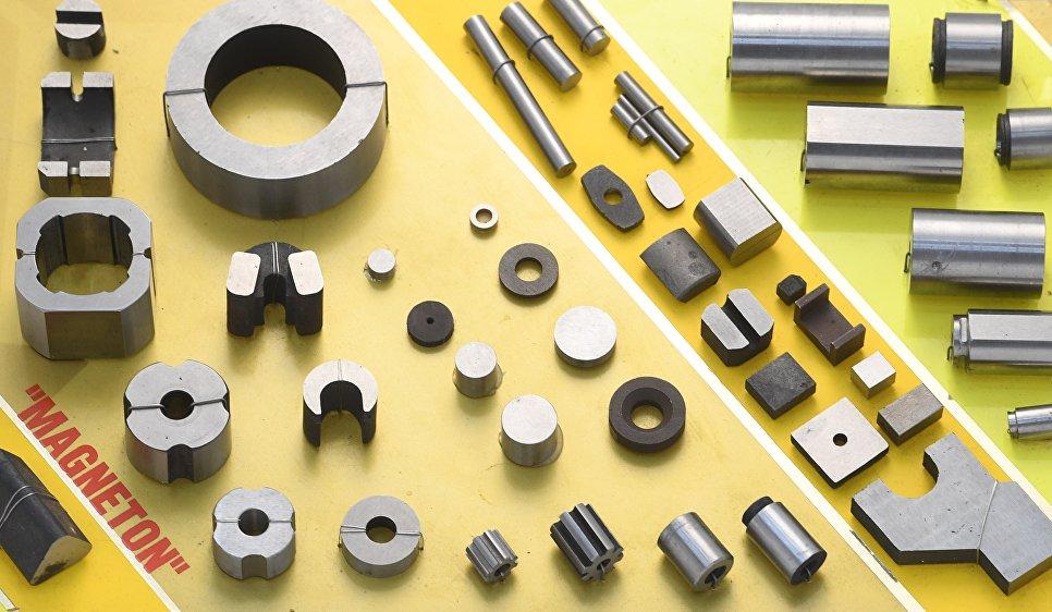 Постоянные магниты на основе редкоземельных магнитотвердых материалов