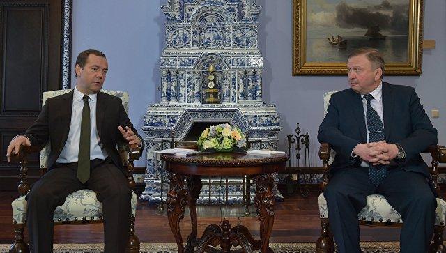 Решить все трудности с республикой Беларусь пока неудалось— Медведев