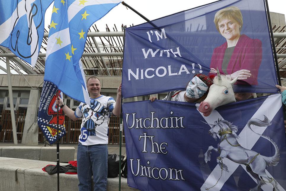 Испания непомешает Шотландии вслучае независимости вступать вЕС