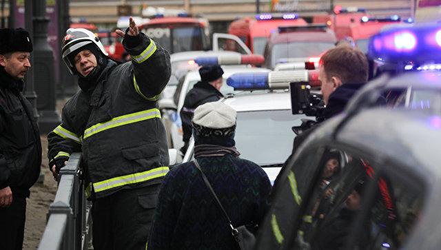 СК РФ открыл уголовное дело пофакту взрывов в северной столице