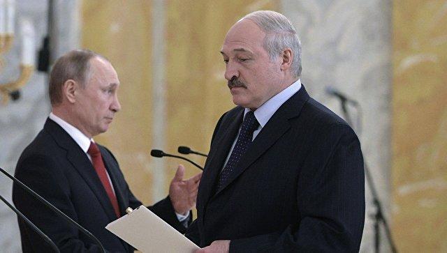 Лукашенко объявил, что Республика Беларусь нестояла наколенях перед Россией