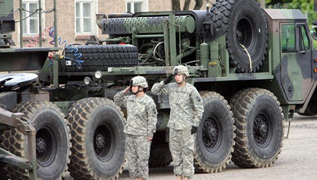 Американские ракеты Patriot размещены в Польше, архивное фото