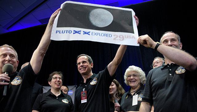 Космический корабль NASA пролетел пол пути доПлутона
