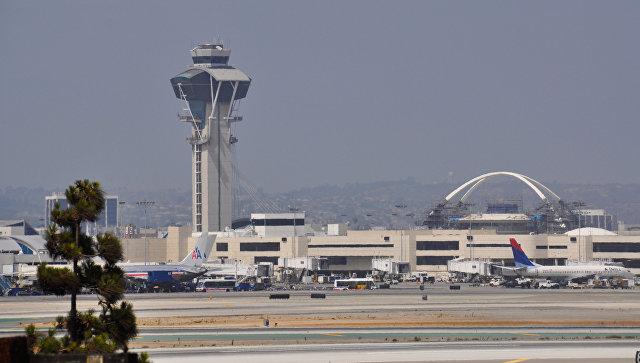 Международный аэропорт Лос-Анджелеса. США. Архивное фото