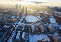Вид на жилой комплекс Долина Сетунь в Москве