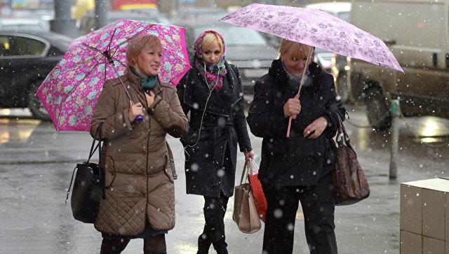 В российскую столицу возвратится снег