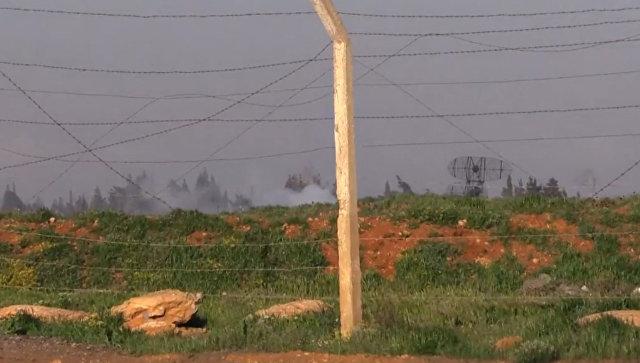 Авиабаза в Сирии, по которой ВВС США нанесли ракетный удар. Архивное фото