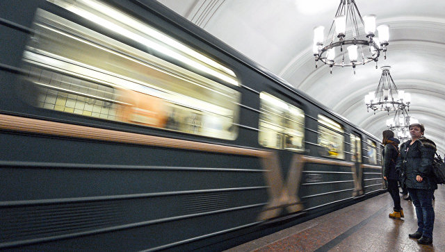На станции московского метро. Архивное фото