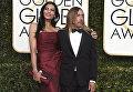 Нина Алу и Игги Поп на премии Золотой глобус в Беверли-Хиллз, США