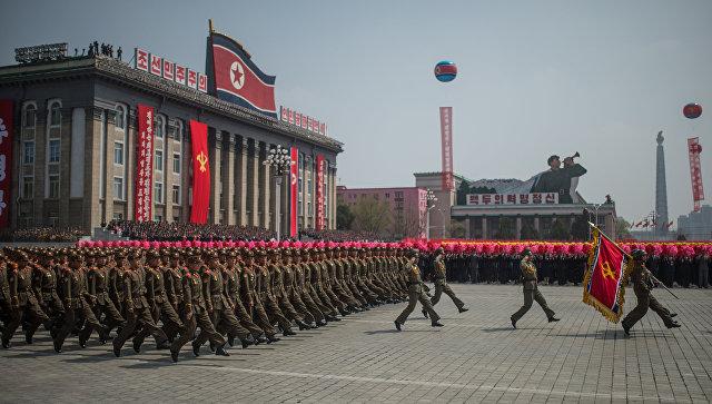 Праздничные мероприятия в КНДР. Архивное фото