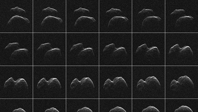 Радарные снимки астероида 2015 JO25, который в среду сблизится с Землей
