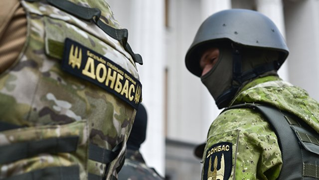 Бойцы батальона Донбасс.Архивное фото