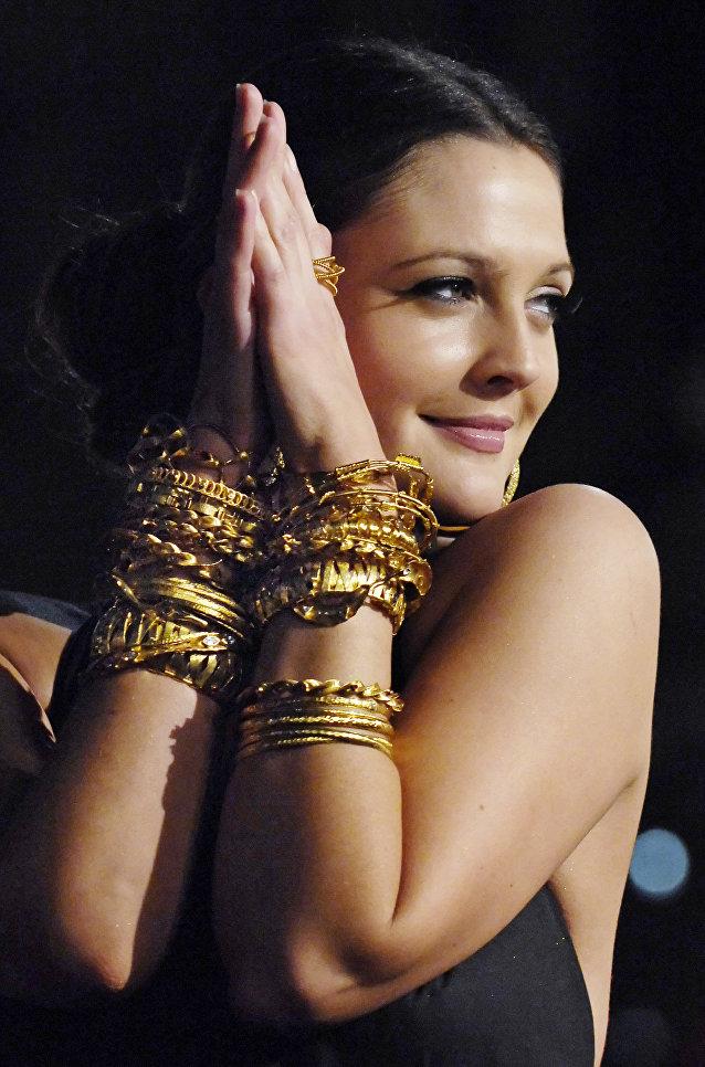 Актриса Дрю Бэрримор, 2007 год
