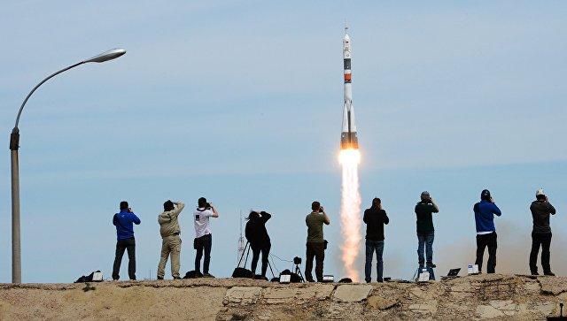 Пуск ракеты-носителя. Архивное фото